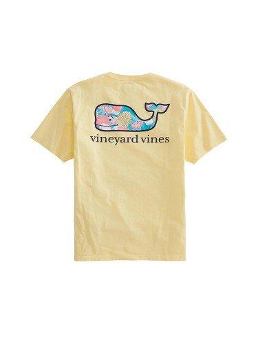 yellow tropical shirt - vineyard vines