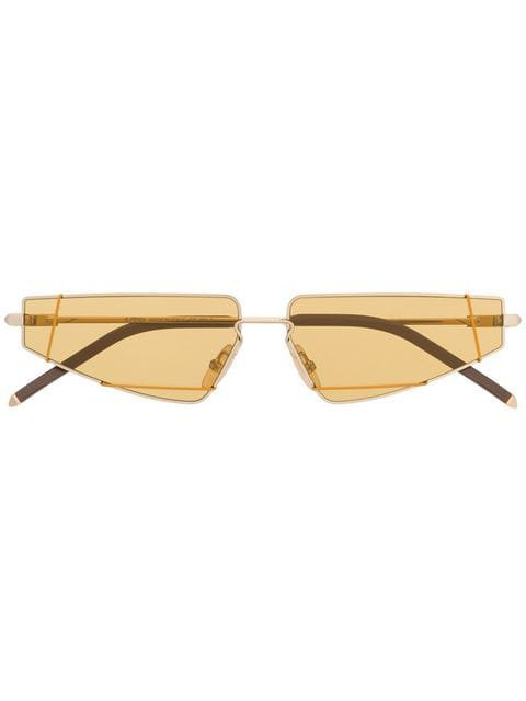 Fendi Eyewear gold tinted sunglasses