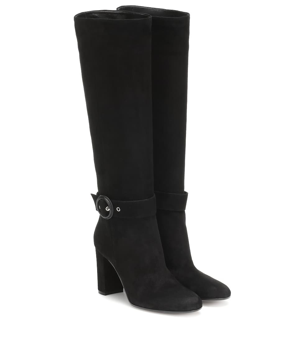 Suede Boots | Gianvito Rossi - Mytheresa