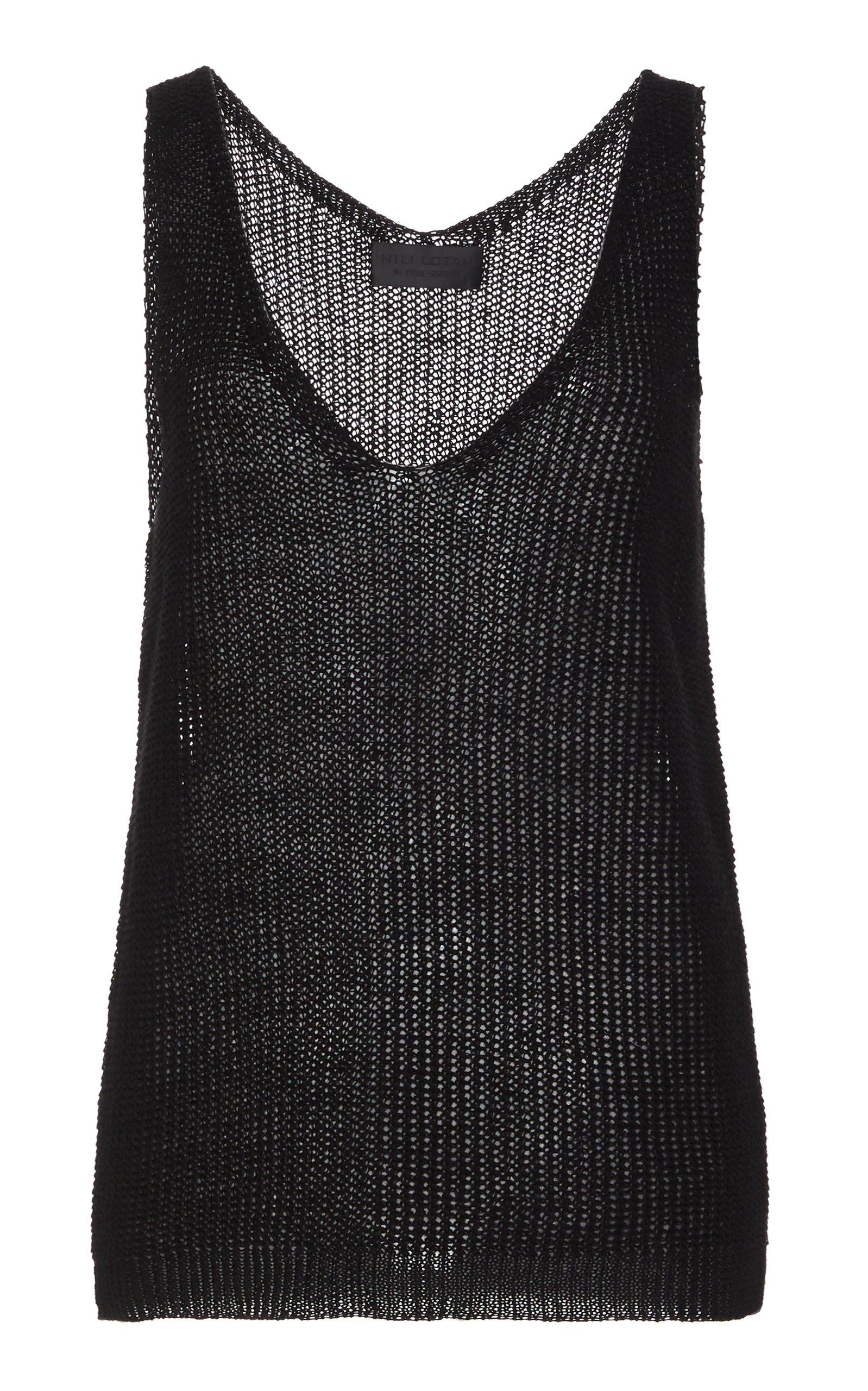 NILI LOTAN Nala Linen Sweater Size: M
