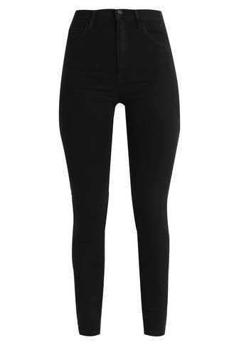 ONLY ONLRAIN HIGH SKINNY - Jeans Skinny Fit - black denim - Zalando.co.uk