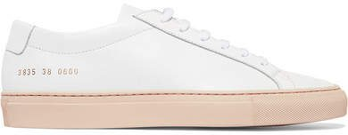 Achilles Leather Sneakers - White