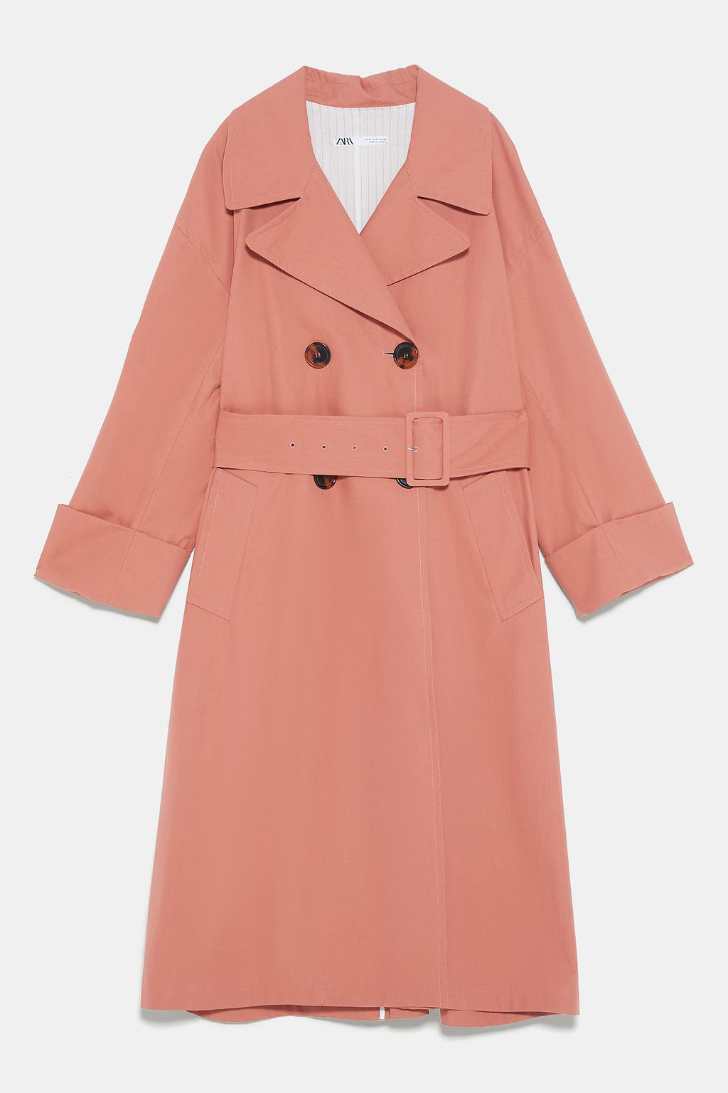 BELTED TRENCH COAT - Trench Coats-COATS-WOMAN | ZARA United States