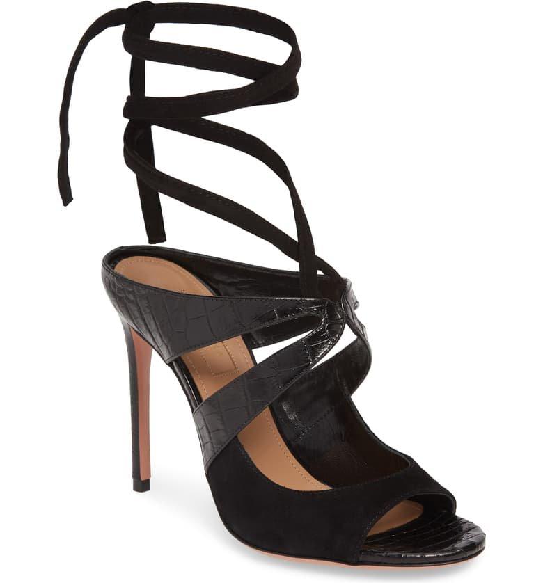 Aquazzura Mabel Ankle Strap Sandal (Women) | Nordstrom