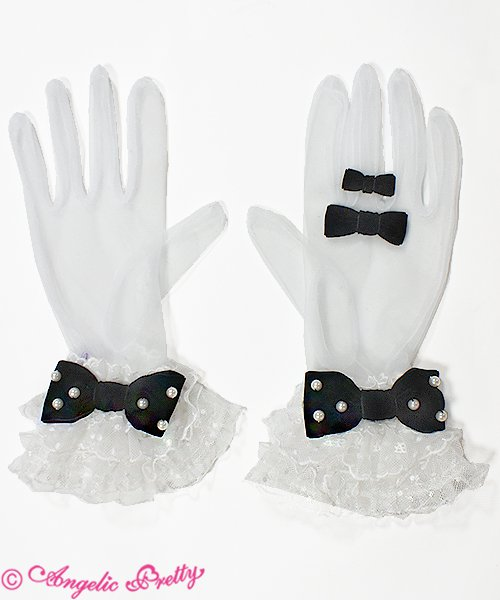 Party Doll Tulle Gloves - Angelic Pretty