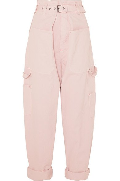 Isabel Marant | Inny cotton tapered pants | NET-A-PORTER.COM