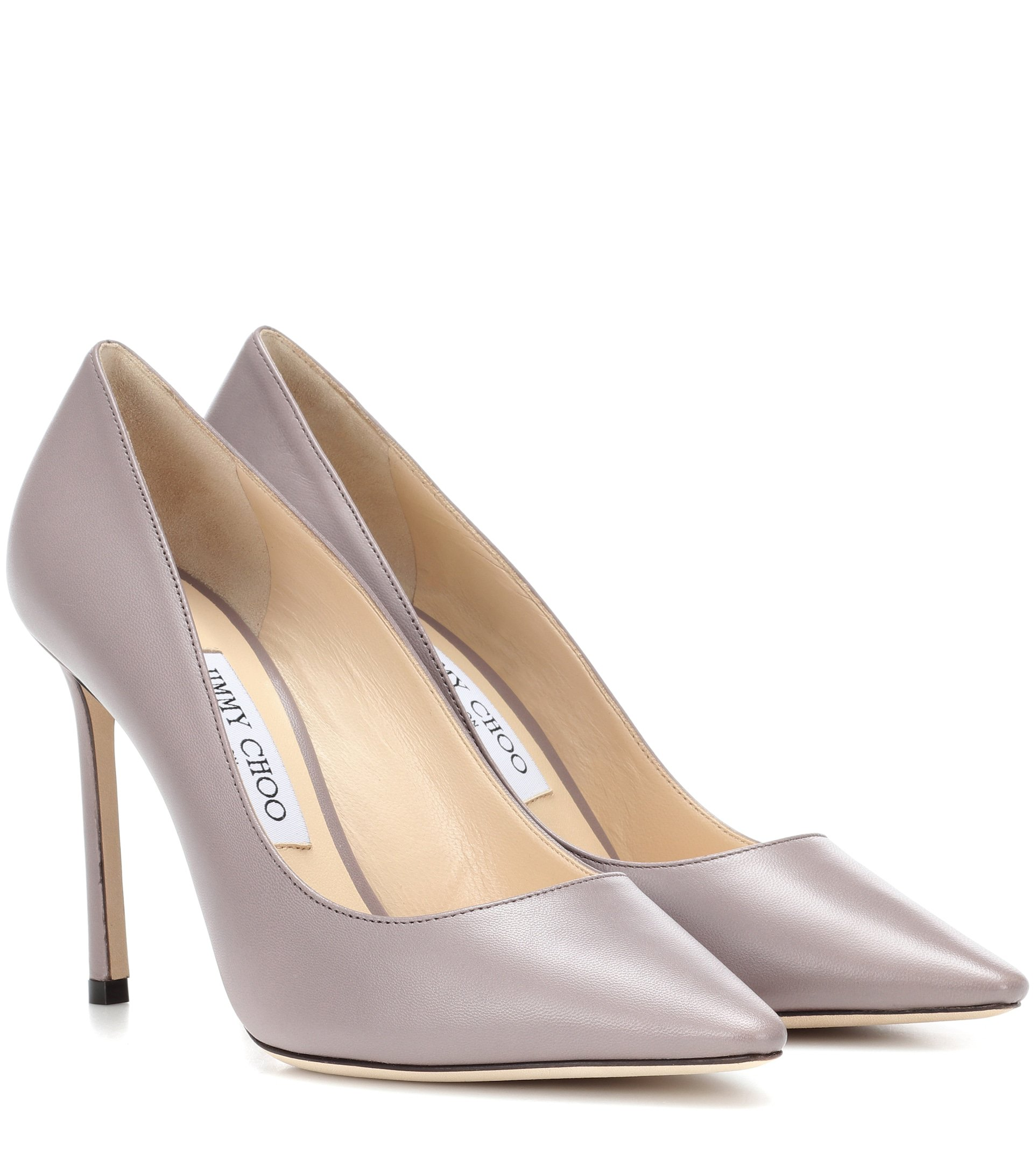 Jimmy Choo - Romy 100 leather pumps | Mytheresa
