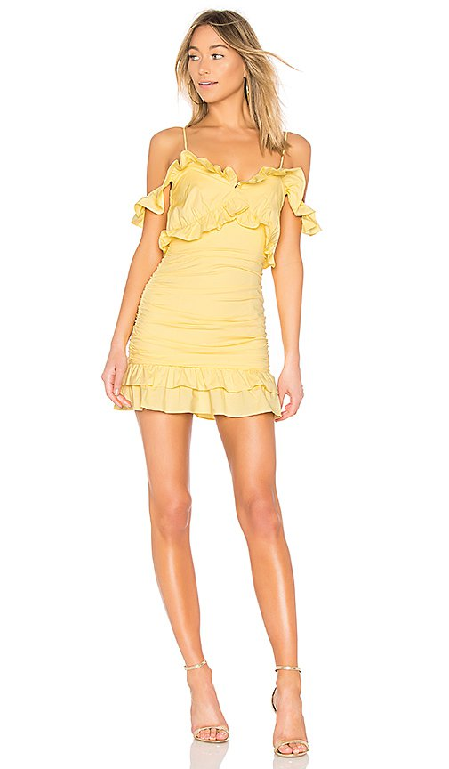 Lovers + Friends Donna Dress in Daffodil | REVOLVE