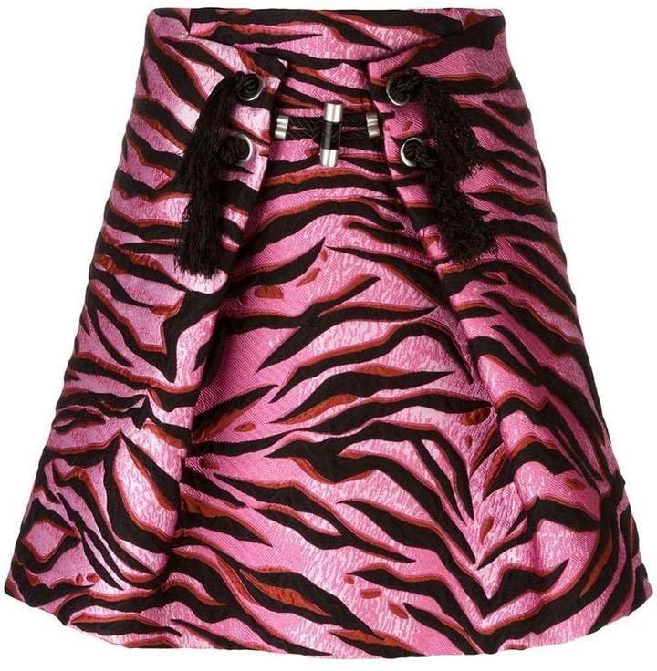 'Tiger Stripes' skirt