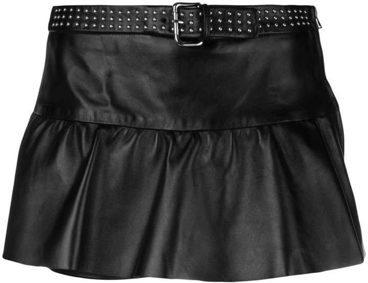 studded belt shorts