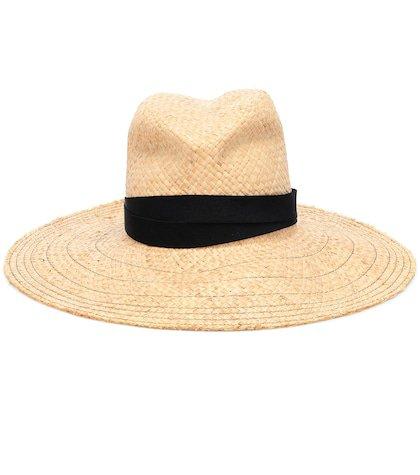 Snap First Aid raffia hat