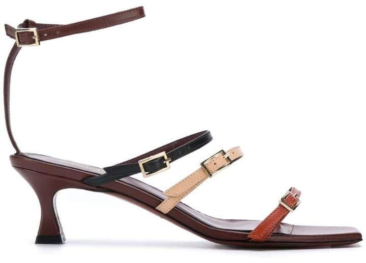 Manu multi-strap heeled sandals