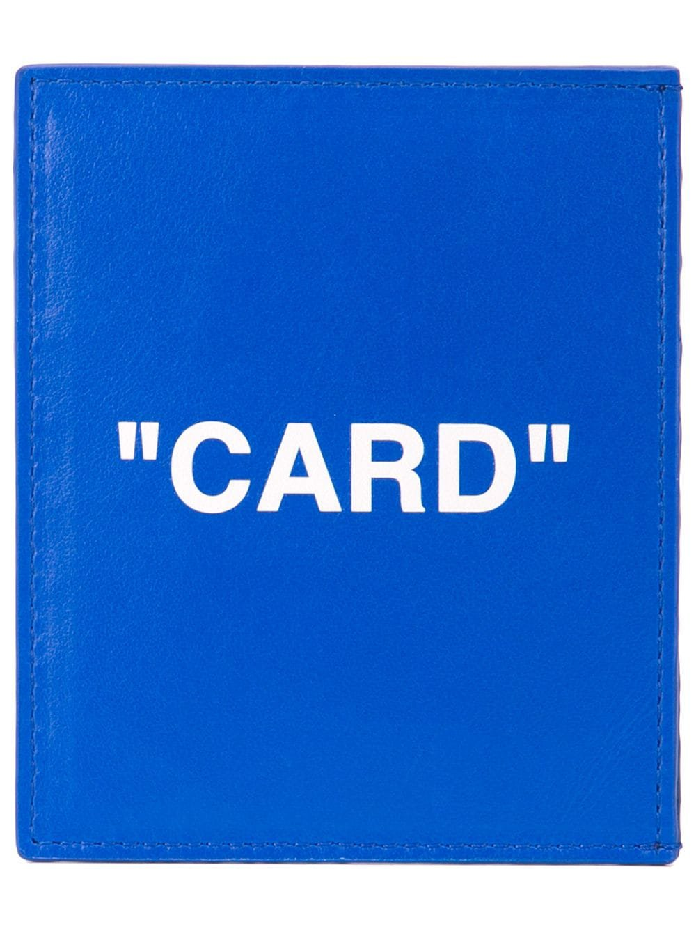 Off-White quote card holder £302 - Shop Online. Same Day Delivery in London