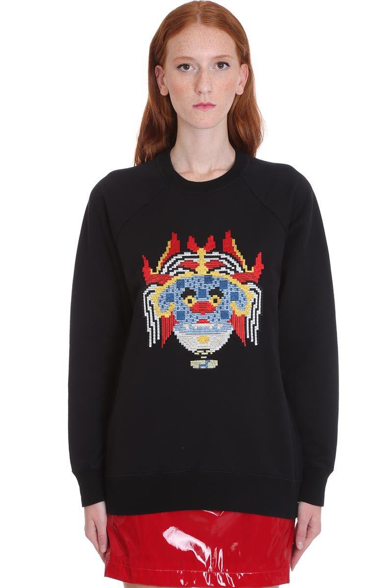Kirin Sweatshirt In Black Cotton
