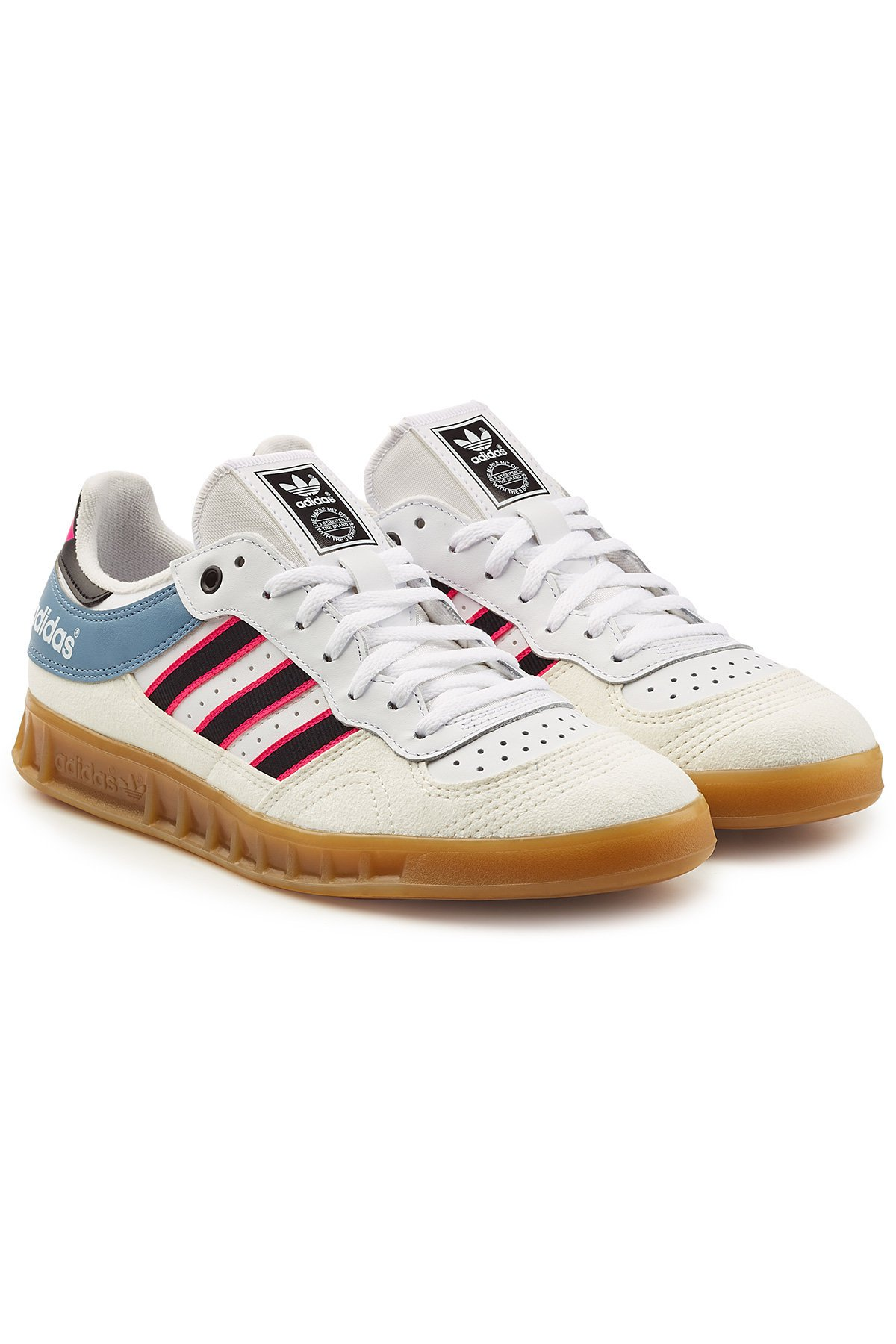 Handball Top Sneakers with Leather Gr. UK 6.5
