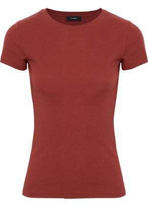Ribbed Cotton And Modal-blend T-shirt