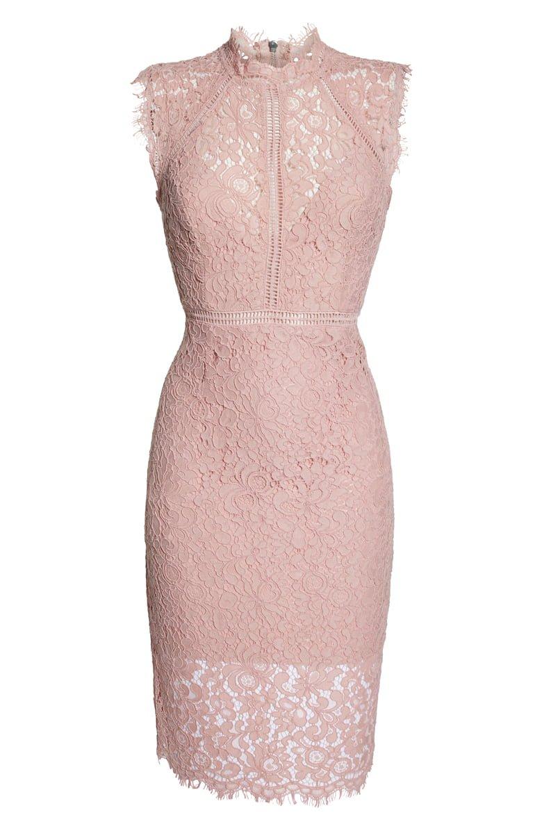 Bardot Lace Sheath Dress   Nordstrom