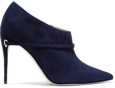 Jennifer Chamandi - Fausto Suede Ankle Boots - Brown