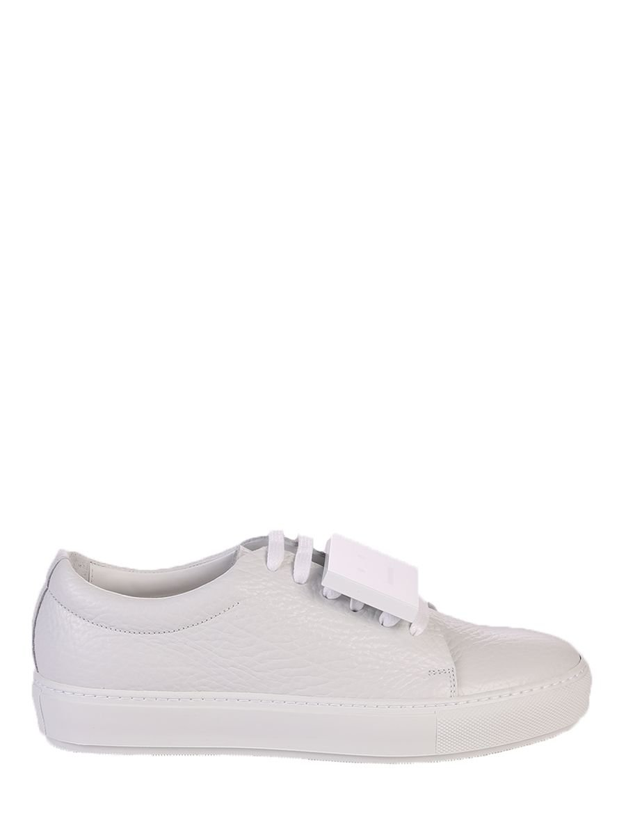 Acne Studios White Lace Up Sneakers