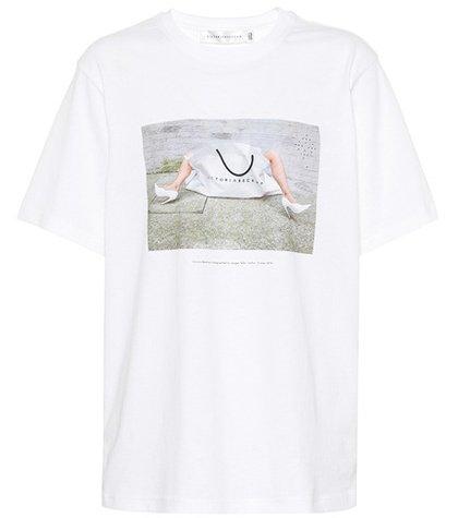 10th Anniversary cotton T-shirt