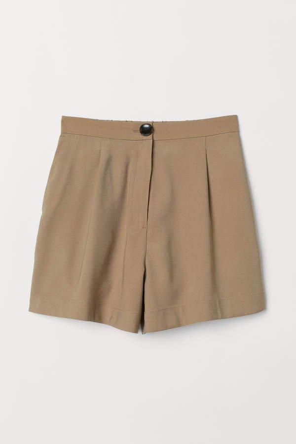 Twill Shorts - Beige