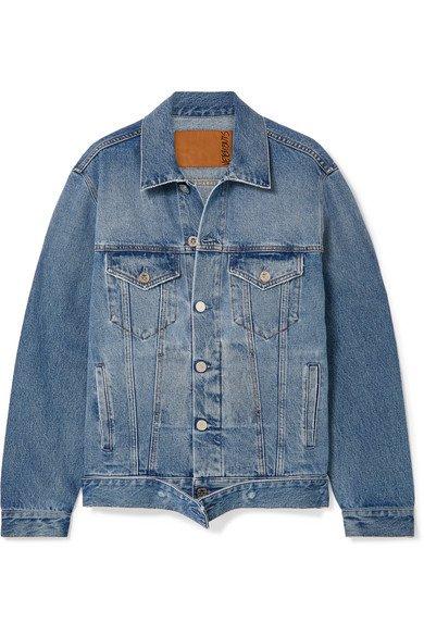 Vetements | Distressed denim jacket | NET-A-PORTER.COM