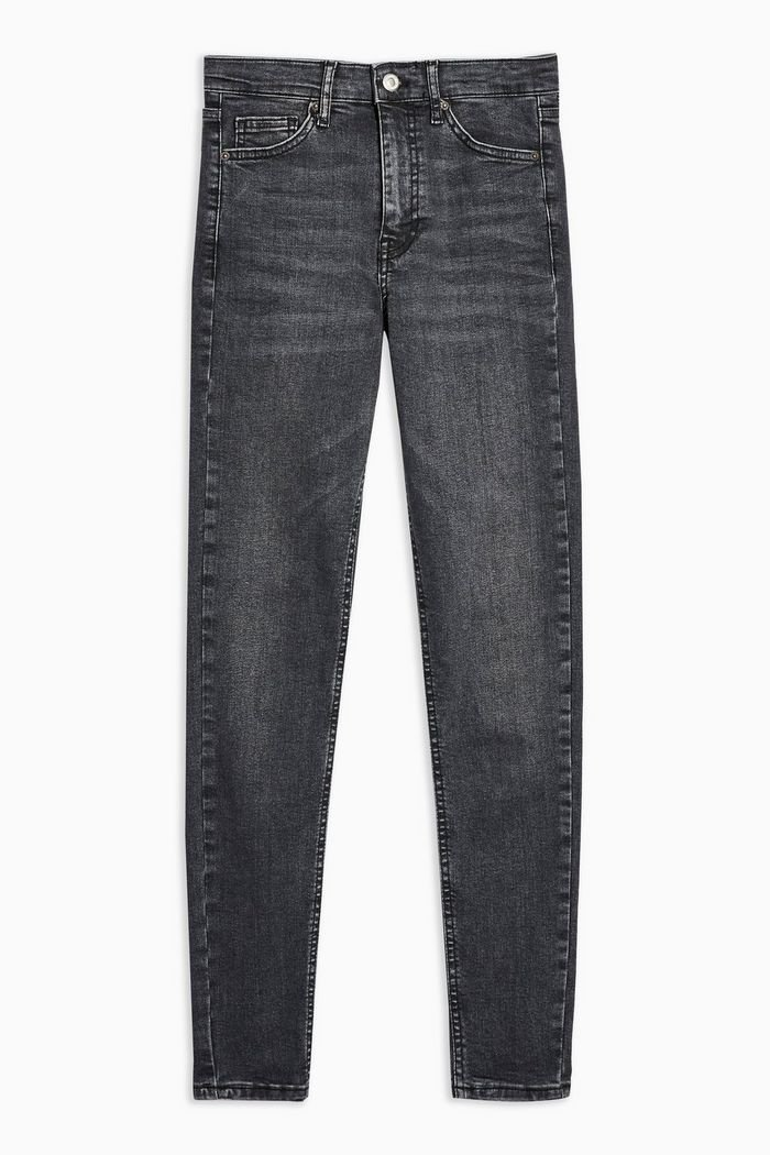 Washed Black Jamie Jeans | Topshop