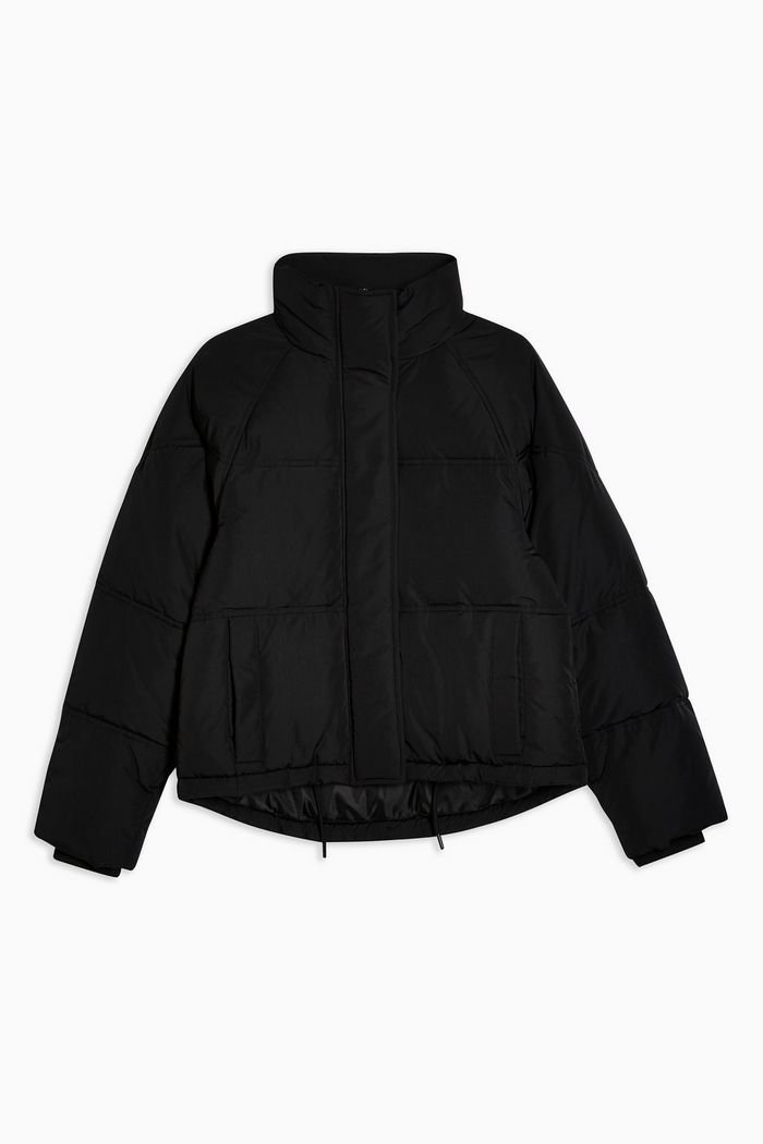 Black Puffer Jacket | Topshop