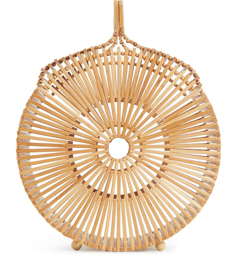 Cult Gaia Round Bamboo Top Handle Bag   Nordstrom