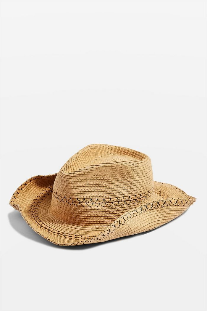 Natural Cowboy Hat | Topshop