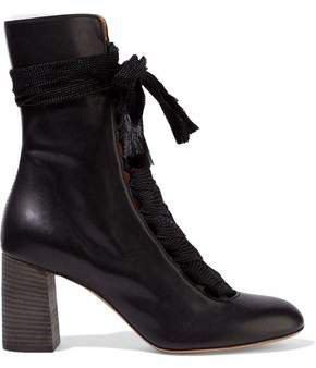 Harper Leather Ankle Boots
