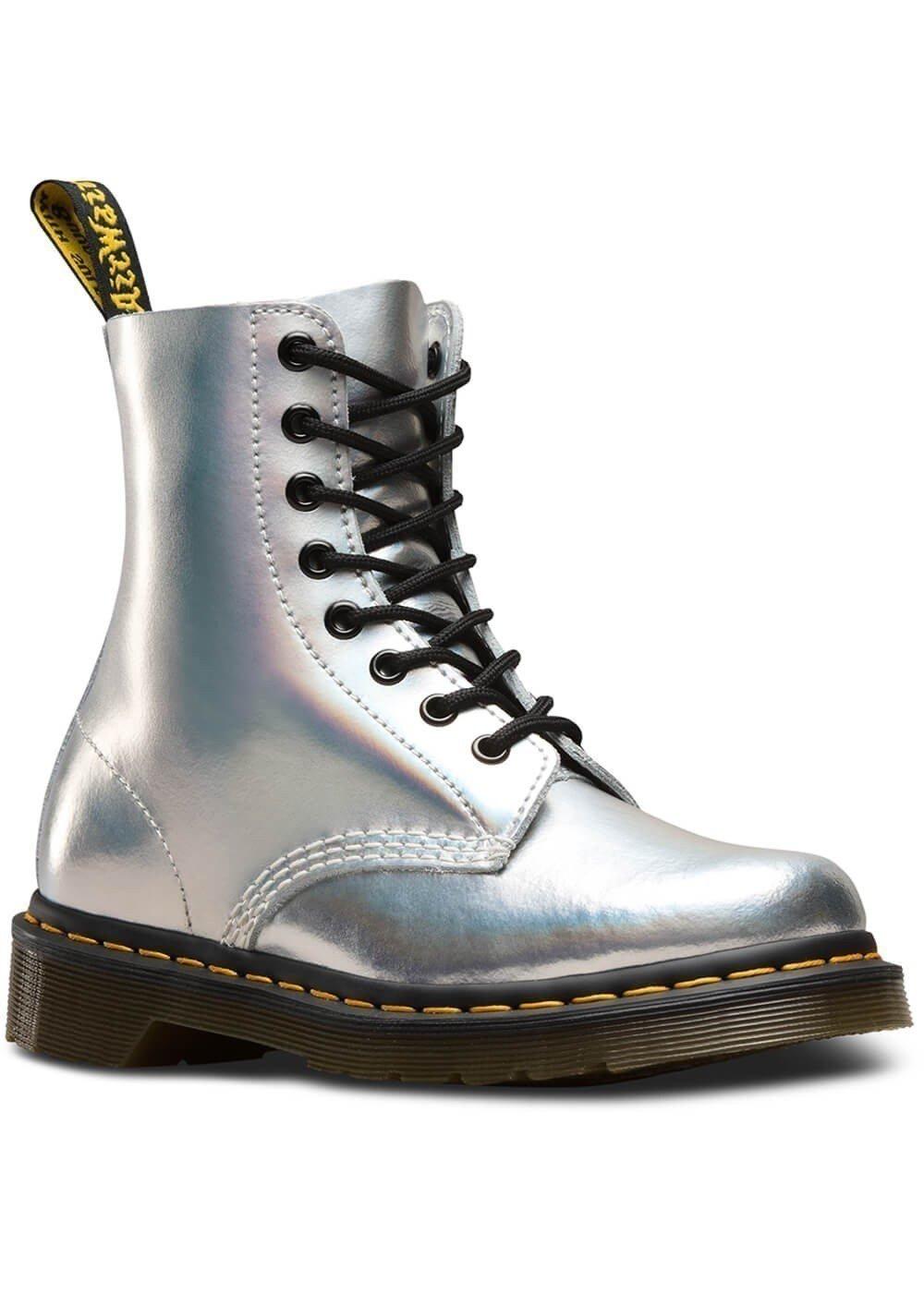 Dr. Martens reflective combat boots