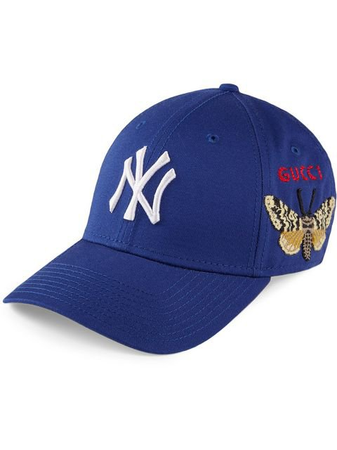 Gucci Baseball Cap With NY Yankees™ Patch - Farfetch