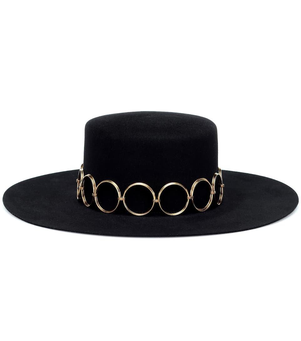 Saint Laurent - Felt hat
