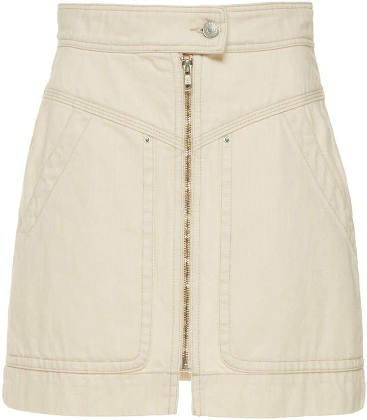 Ioline Denim Mini Skirt