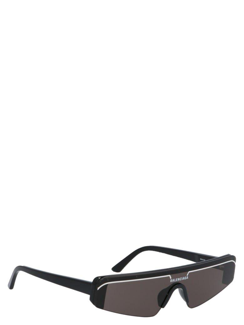 Balenciaga Balenciaga 'sky Rectangle' Sunglasses - Black - 11067361 | italist