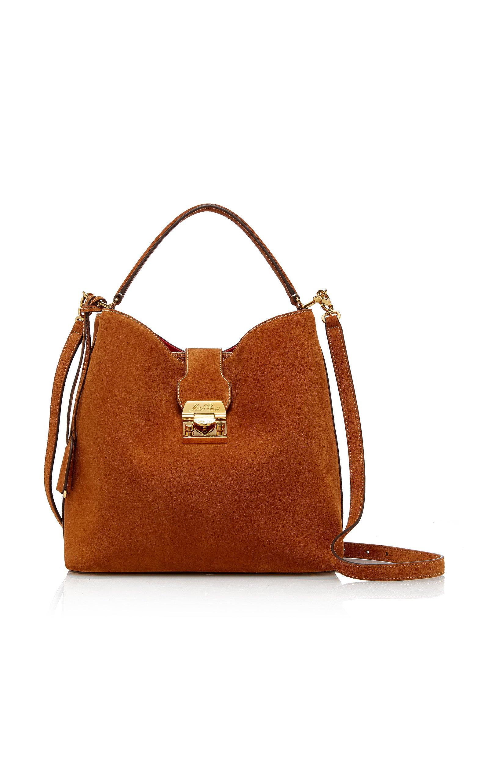 Mark Cross Medium Murphy Suede Bucket Bag