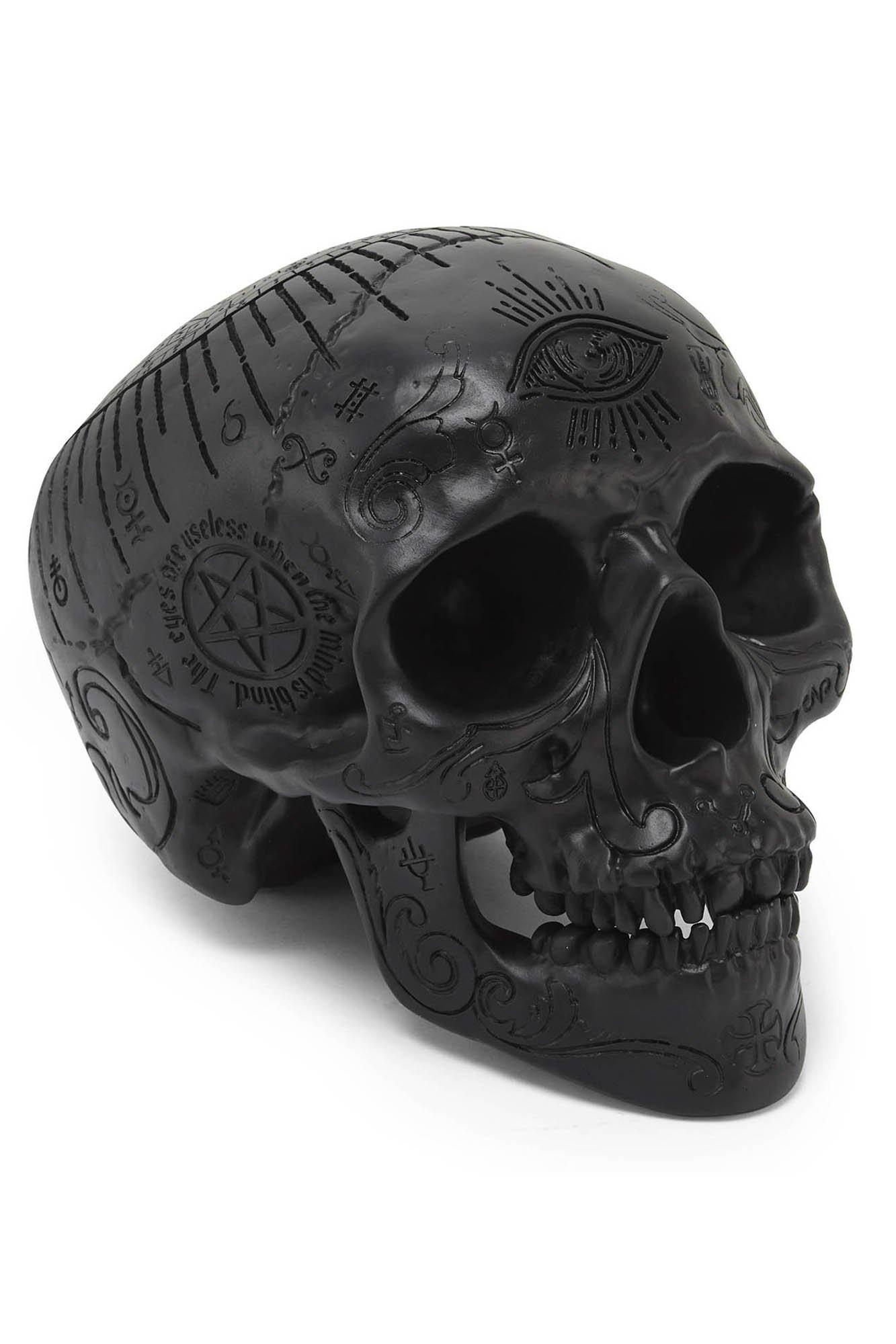 Killstar Nephilim Resin Skull