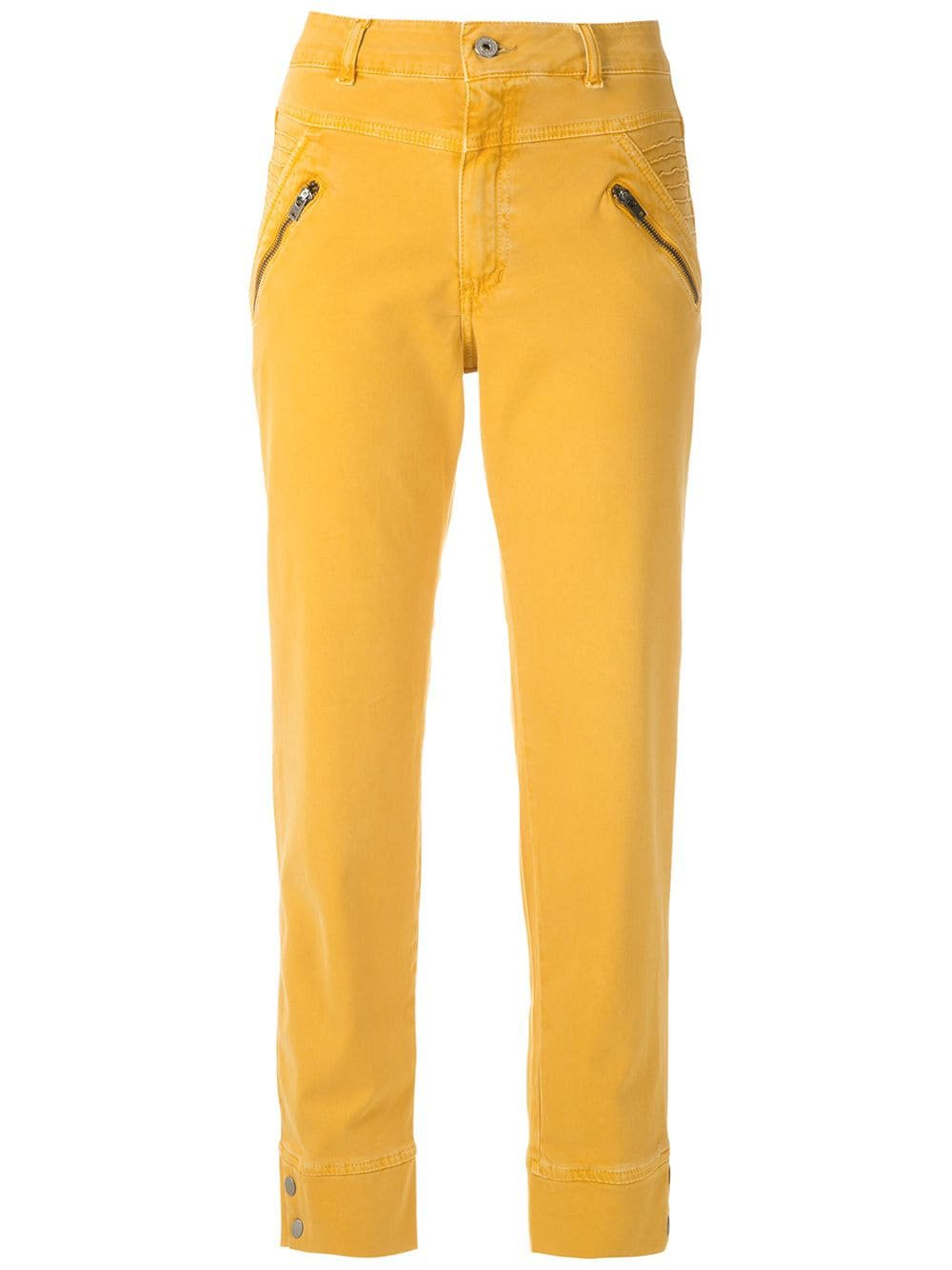Mara Mac Zipped Straight Trousers