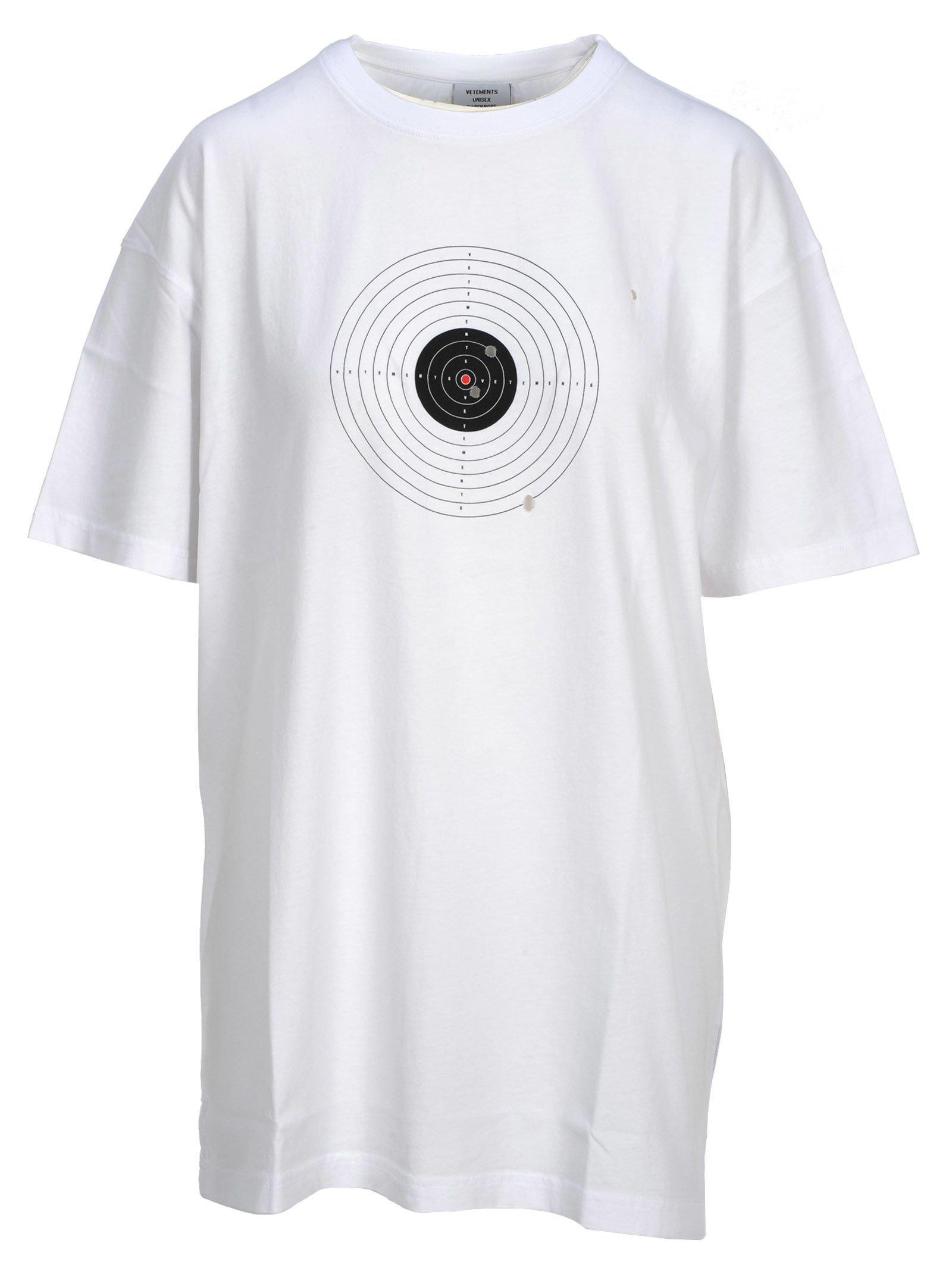 Vetements Vetements Target Print T-shirt