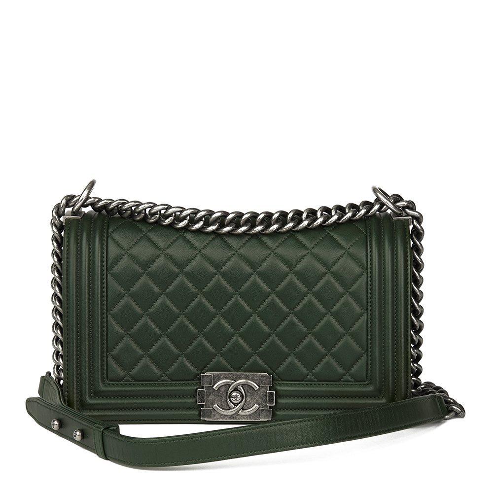 Chanel Medium Le Boy 2015 HB1628 | Second Hand Handbags | Xupes