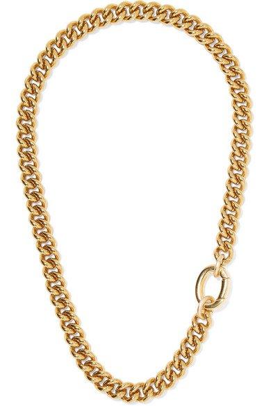 Laura Lombardi | Presa gold-tone necklace | NET-A-PORTER.COM