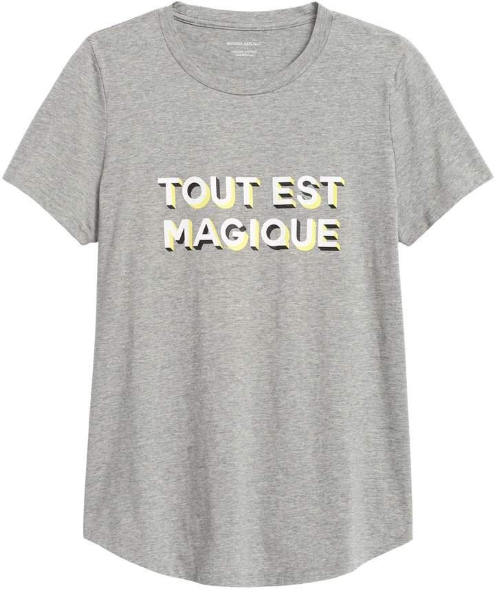 SUPIMA Cotton Graphic T-Shirt