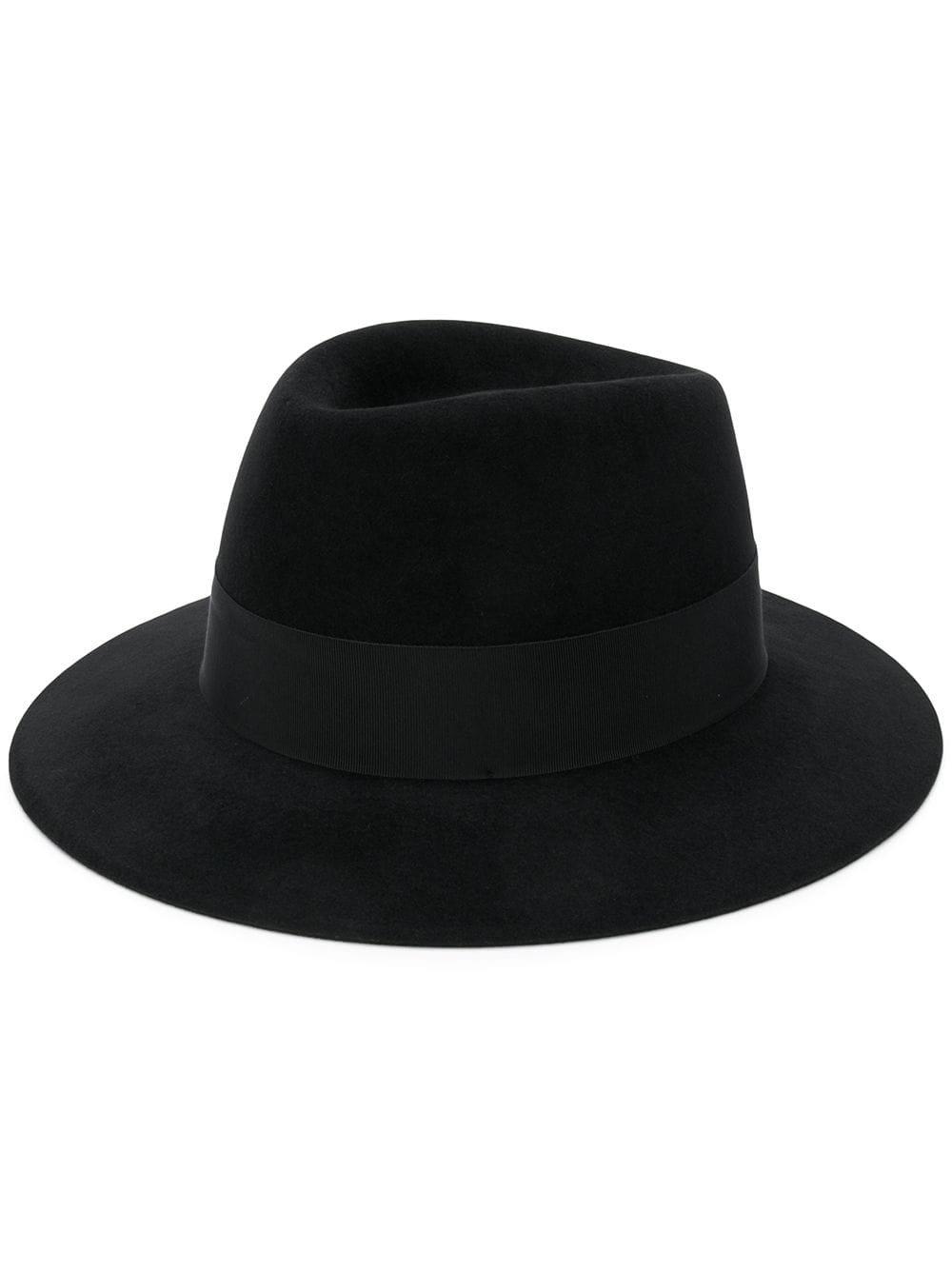 Saint Laurent Wide Brim Fedora Hat | Farfetch.com