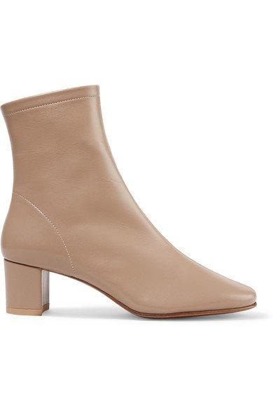 BY FAR | Sofia leather sock boots | NET-A-PORTER.COM