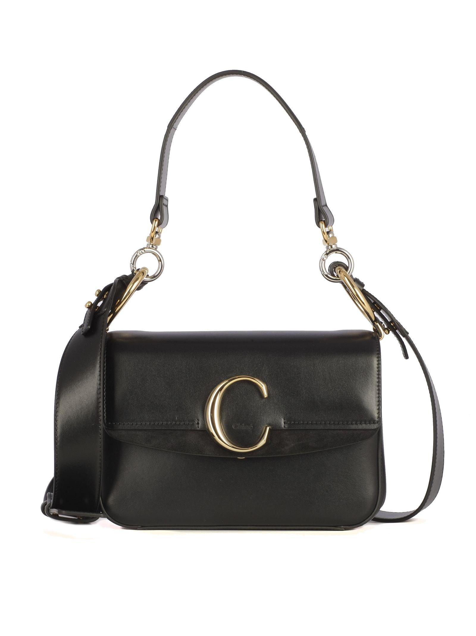 Chloé S C Double Shoulder Bag