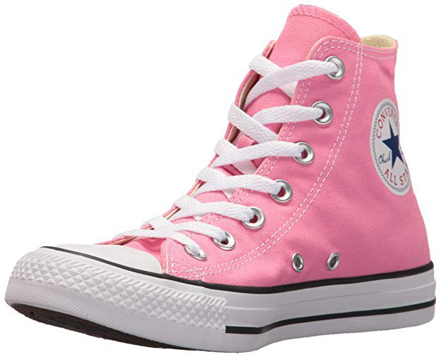 Amazon.com   Converse Clothing & Apparel Chuck Taylor All Star High Top Sneaker, Pink, 11.5 Women / 9.5 M US Men   Fashion Sneakers