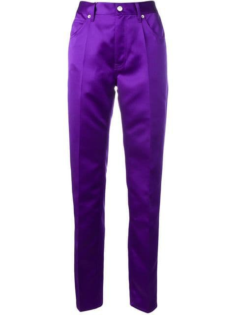 Mm6 Maison Margiela high-waisted trousers