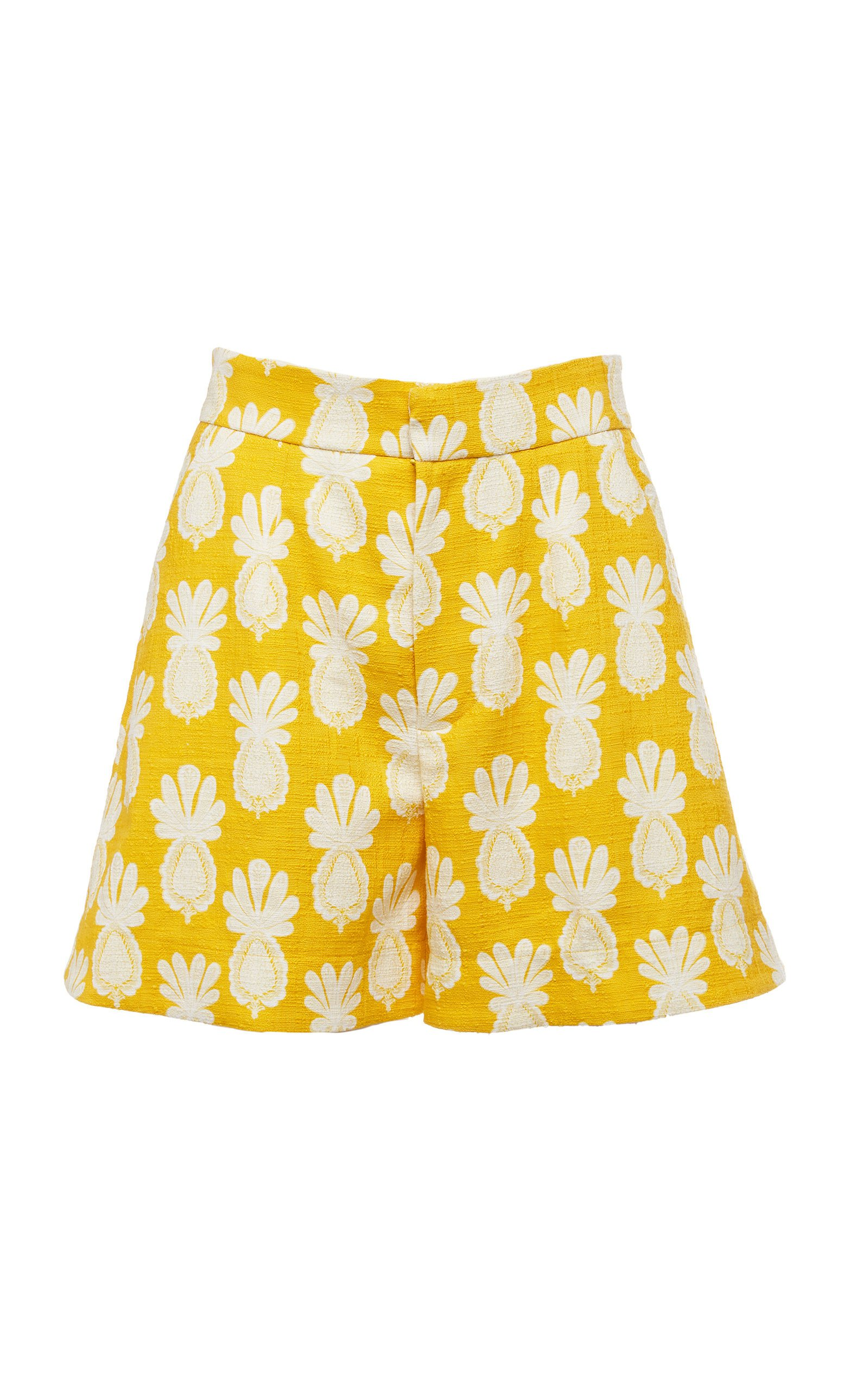 La DoubleJ Good Butt High-Rise Printed Shorts Size: XS