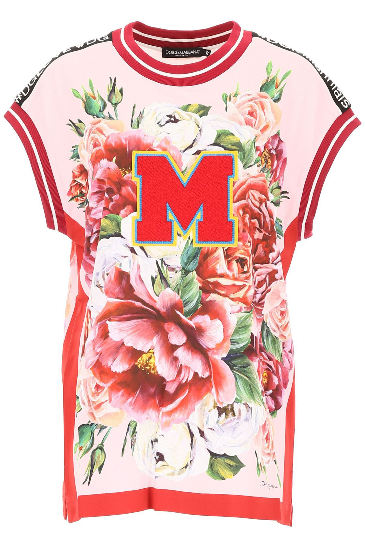 Dolce & Gabbana Blouse With Floral Print